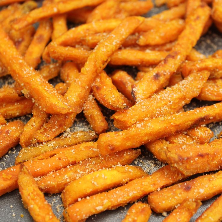 Sweet potatoes aren't just for the holidays anymore. Sweet potato fries and wedges have become more popular over the years and are packed with beneficial nutrients. That doesn't mean they need to tast