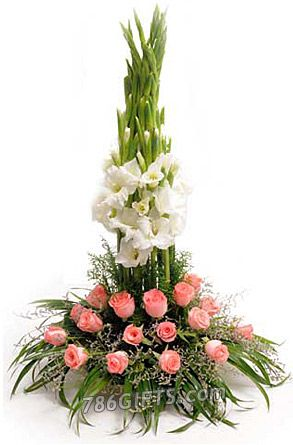 Pinkwhite flowers basket send gifts to pakistan 786gifts pinkwhite flowers basket send gifts to pakistan 786gifts flowers to pakistan pinterest pink white mightylinksfo