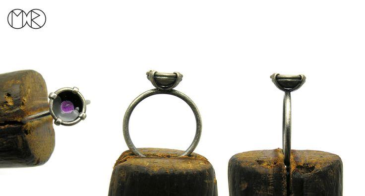 Silberschmuck - Silber Ring SIMPLE  8 von MartaRudnicka auf DaWanda.com