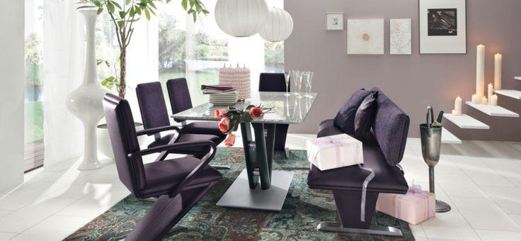 Modern Dining Room Ideas: Purple Modern Dining Room Ideas ~ interhomedesigns.com Dining Room Designs Inspiration