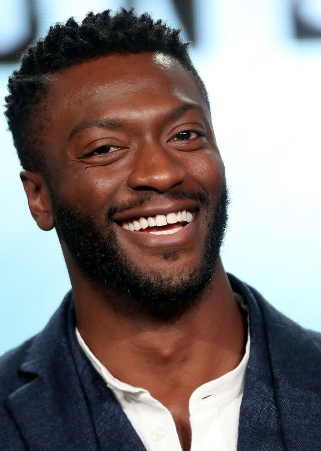 Aldis Hodge of the series 'Underground' speaks onstage during the WGN America portion of the 2017 Winter Television Critics Association Press Tour at the Langham Hotel on January 13, 2017 in Pasadena, California