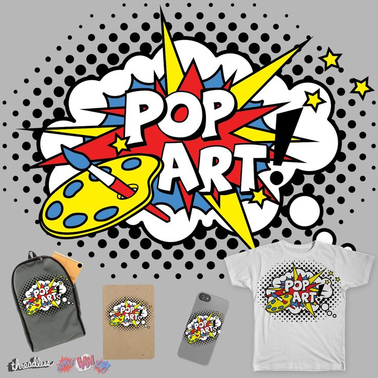 POP ART! on Threadless