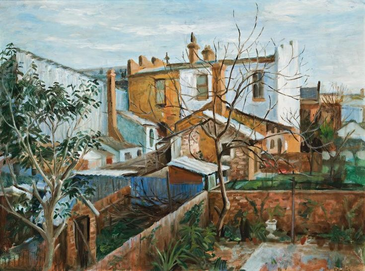 The View from David Strachan's Kitchen, 1963, Margret Olley