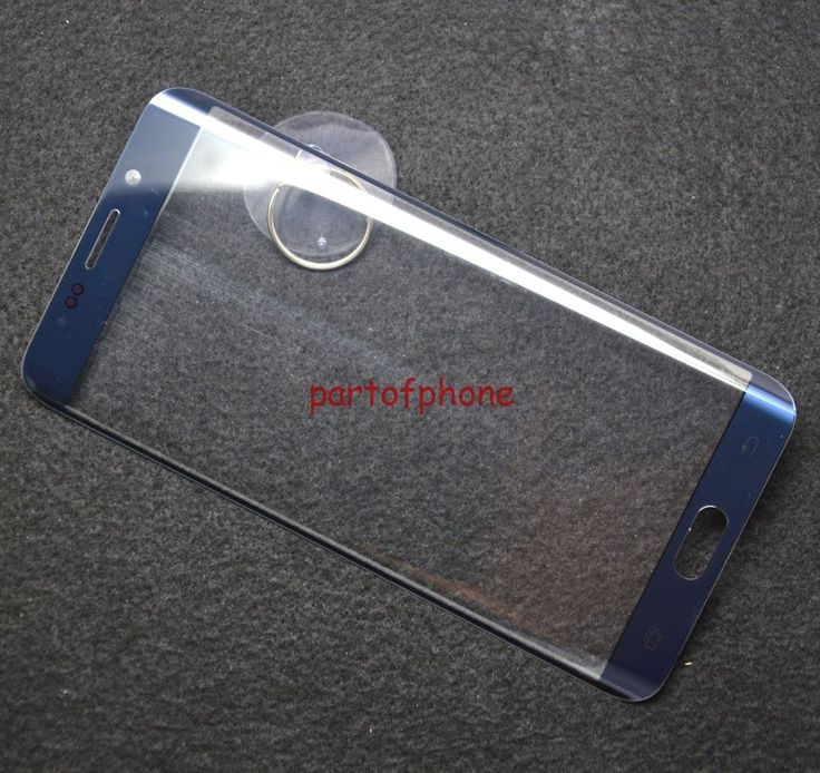 Samsung Galxy S6 Edge Plus G928 Front Screen Glass Outer Screen Glass-Blue #Unbranded