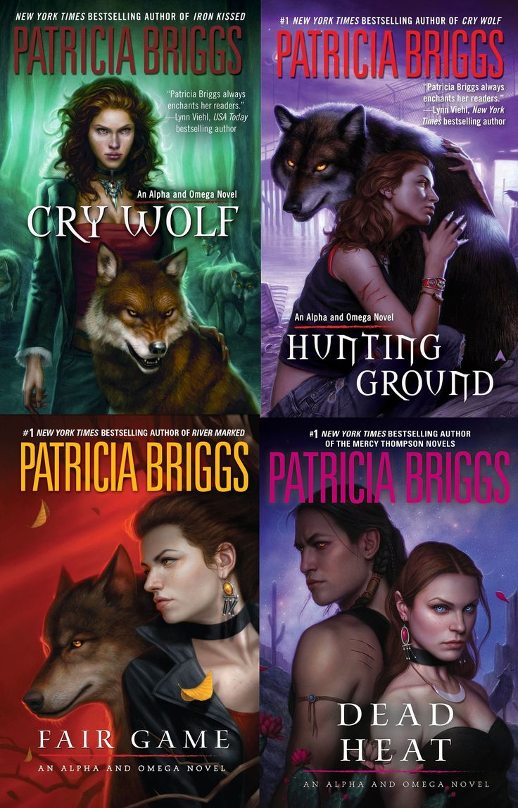 Alpha & Omega Series, By Patricia Briggs  This Series Is A Spinoff Of The