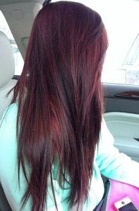 17 Best Ideas About Burgundy Brown Hair Color On Pinterest  Dark Burgundy Ha