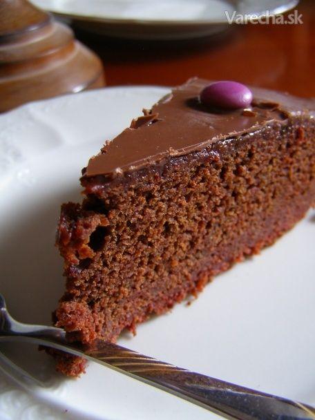Čokoládovo-cviklový zákusok