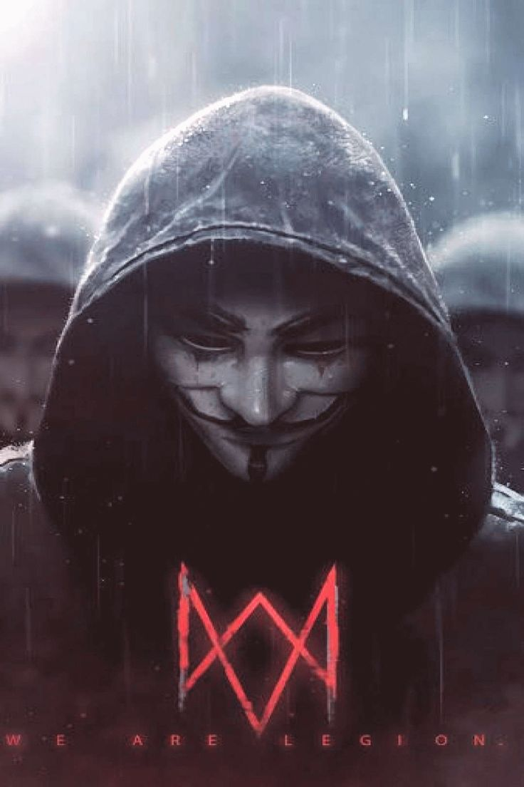 Watch Dogs Legion Logo Anonymous 4K3840x2160