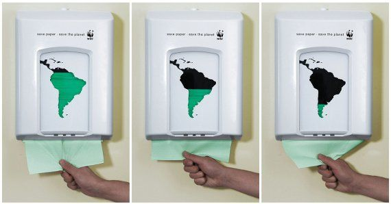 World Wildlife Fund Print Ads - my kids would really notice the impact they're making.