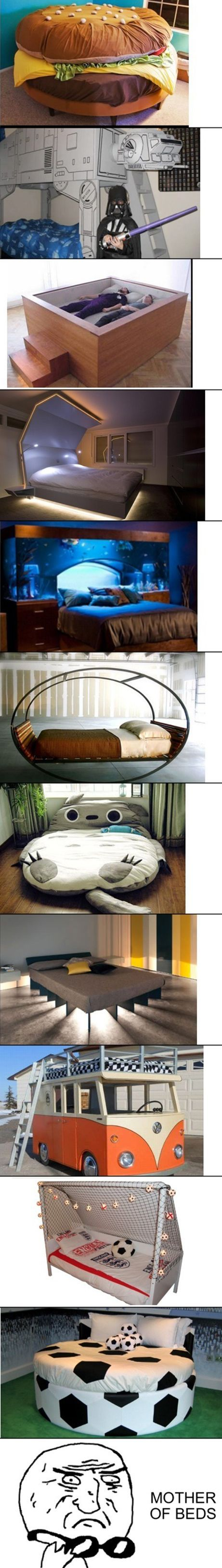 Awesome beds are awesome