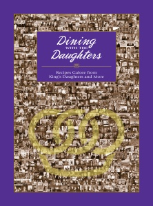 Dining with the Daughters - the new cookbook from my favorite community club the Kings Daughter's Organization. I'm working on the website now...we will have a cookbook blog :)