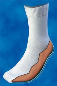 Excellent gel socks for arthritic feet! #Seniors