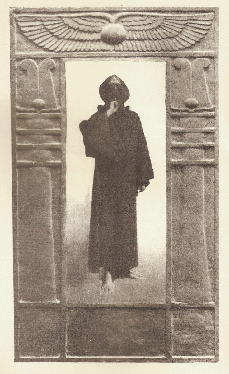 Aleister Crowley as Harpocrates  http://en.wikipedia.org/wiki/Harpocrates