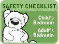 Bedroom  Household Safety Checklist... be sure to check out the other safety suggestions