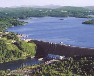 Lake Solina and Dam # Bieszczady Mountains region # The largest artificial lake in Poland.