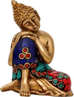 Aesthetic Decors Buddha Resting With Stone Work Showpiece - 10.2 cm Price in India - Buy Aesthetic Decors Buddha Resting With Stone Work Showpiece - 10.2 cm online at Flipkart.com