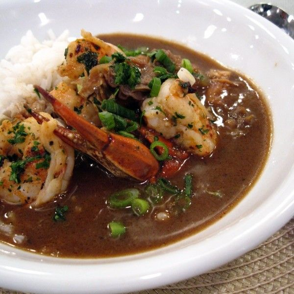 Only a week left in our countdown! Recipe #8: Emeril's Classic Seafood Gumbo -- Some form of gumbo is always on the menu at Emeril's Restaurant. This classic seafood version, which is chock-full of shrimp, fish, and oysters swimming in a broth richly flavored with gumbo crabs, is always a hit. #Emerils25