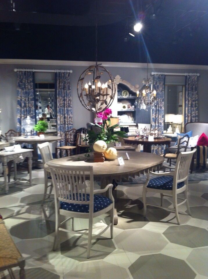 Dining Room At Jonathan Charles Fine Furniture