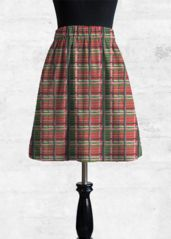 red tartan skirt: What a beautiful product!