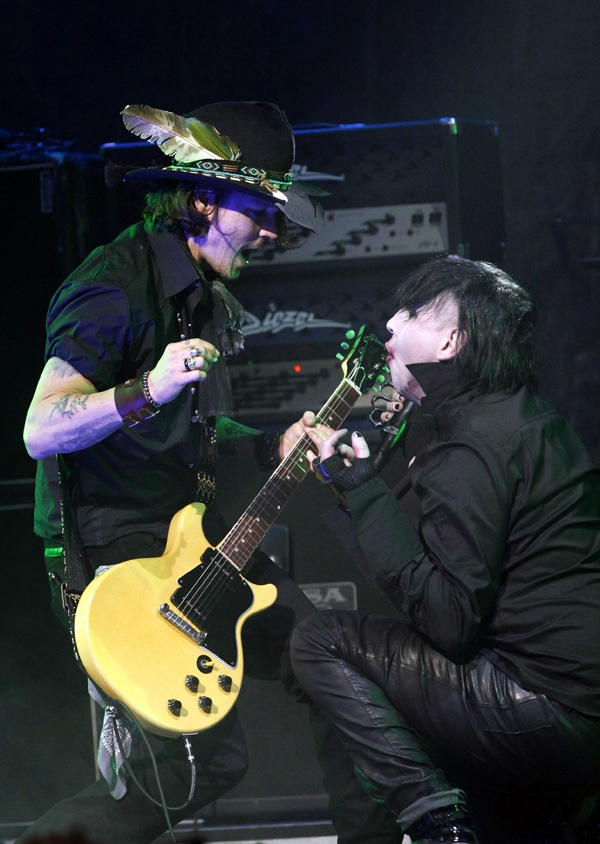 Johnny Depp & Marilyn Manson
