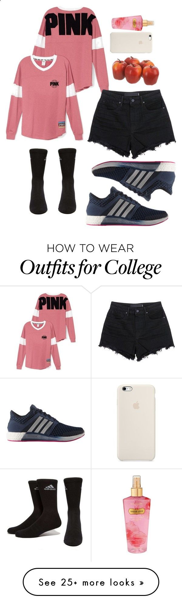 Super Athletic Women by alondra129 on Polyvore featuring adidas, Victorias Secret and Alexander Wang