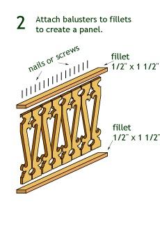 Victorian Millwork & Gingerbread House Trim Porch Railing