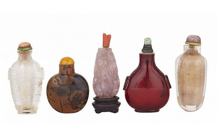Inside the Archives: Chinese Snuff Bottle Prices | These handheld treasures are some of the most sought-after objects in the market today. Our editors take a closer look at recent prices for jade, porcelain and enameled examples.
