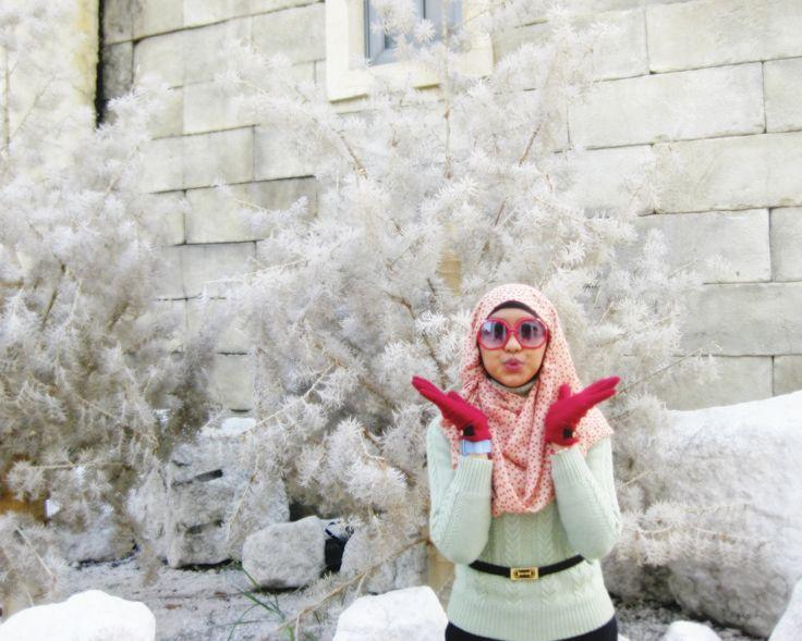 Macau 2013 || #sweater #hijaab #springoutfit
