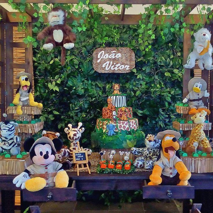 Decoração do Mickey Safari Festa do Mickey Safari  Decoração do Mickey Safari Party Mickey Safari Festa do Safari  #mickeysafari #safari #decoraçãodomickey #mickey #festa #festadosafari #festasafari #bethdecora whattsapp 98325-2545
