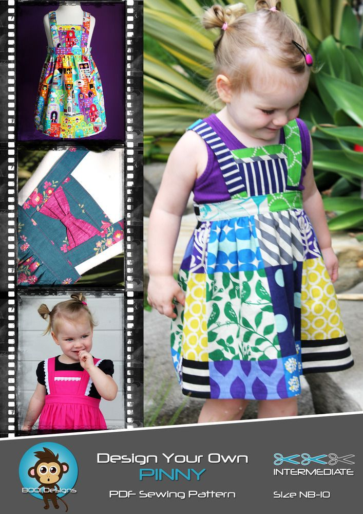 Boo! Designs Patterns, this is the best pinny pattern ever!