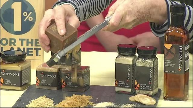 Tonewood Maple Drops By Local 44 - Dori Ross of Tonewood Maple in Vermont dropped by Local 44 News This Morning to show off her unique maple products.