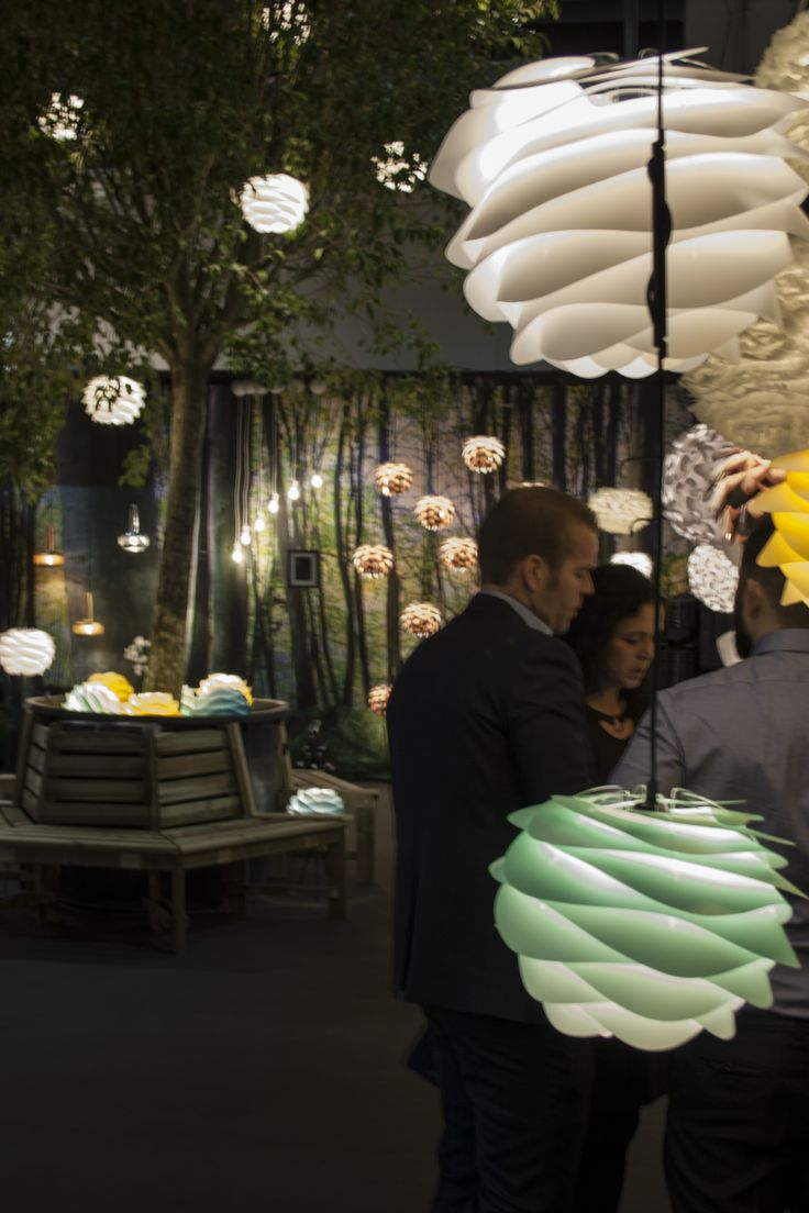 Our beautiful fair stand - events@vitalighting.com