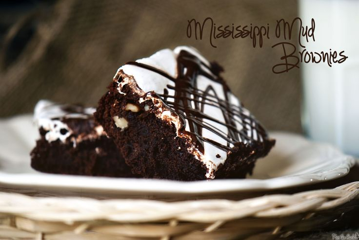 Mississippi Mud Brownies - Made these for Labor Day and everyone loved them.  The marshmallow top layer really makes them special.