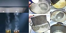 Два способа очистить жир на фильтрах кухонной вытяжки