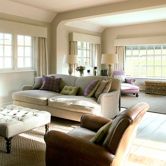 Living room | West Sussex home | House tour | PHOTO GALLERY | 25 Beautiful Homes | Housetohome.co.uk