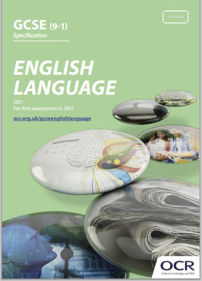 ocr english language gcse j351 specification exam june