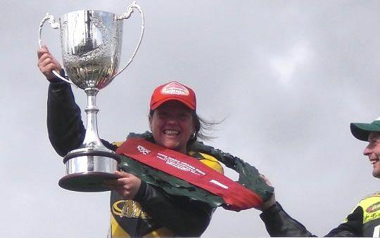 First Female Wins Manx GP