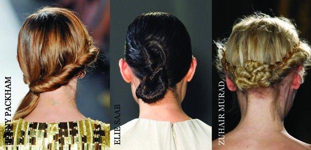Saçınızı döndürerek yapacağınız burgulu saç modelleri için ünlü yıldızlardan ve podyumlardan ilham alın!