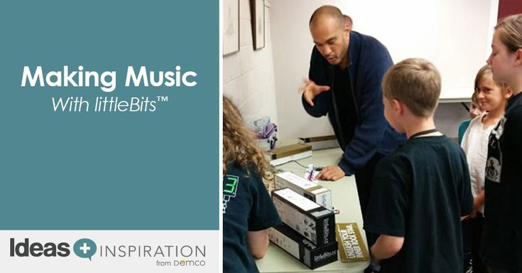 Looking for ways to use the synth kit? See how libraries are embracing the maker music movement and using littleBits to invent their own music.