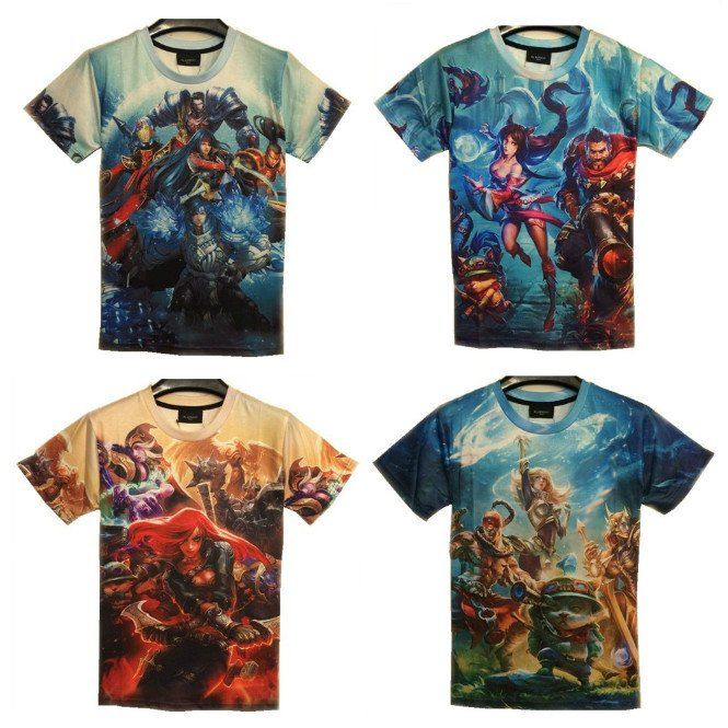 League of Legends T-Shirts - FREE Shipping Worldwide!!    #lol #game #leagueoflegends #rivenstore.com #mmorpg #onlinegames #cosplay