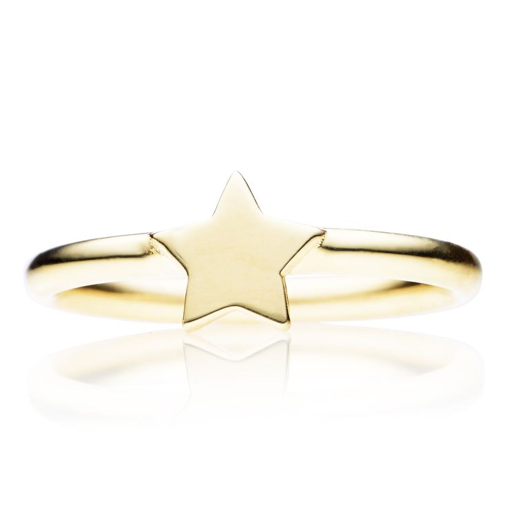 9CT STAR RING