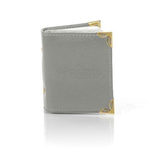 Polaroid Photo Album for 2x3 Zink Photo Paper (Snap Zip Z2300) - Grey