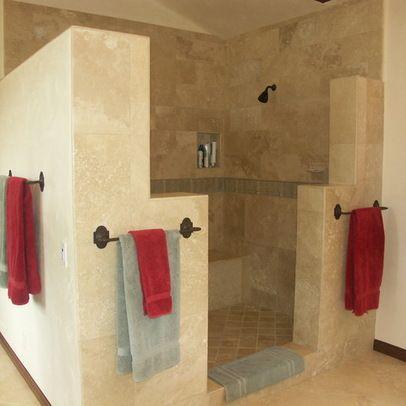 santa barbara mesa kitchen and bath remodel mediterranean bathroom santa barbara jacks kitchens walk in shower no door design ideas - Bathroom Design Ideas Walk In Shower