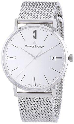 Maurice Lacroix Men's Watch XL Eliros Analogue Quartz Stainless Steel…