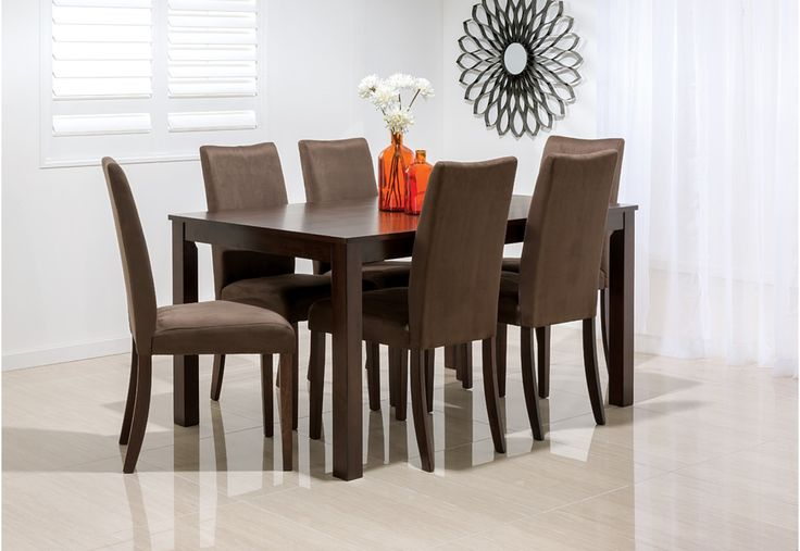 August 7 Piece Dining Suite | Super A-Mart