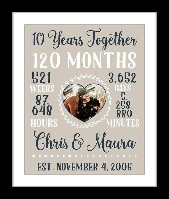 Wedding Anniversary Gifts For Him 10 Year Anniversary Paper Jahrestag Geschenk Fur Ihn Geschenke Hochzeitsgeschenke Ideen