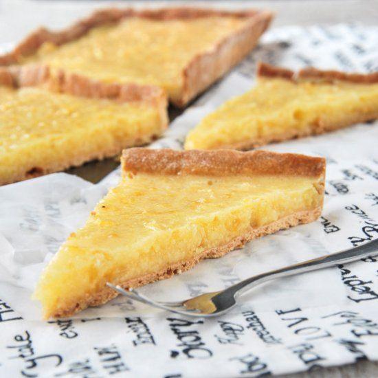 Liverpool tart (lemon) (in Spanish)