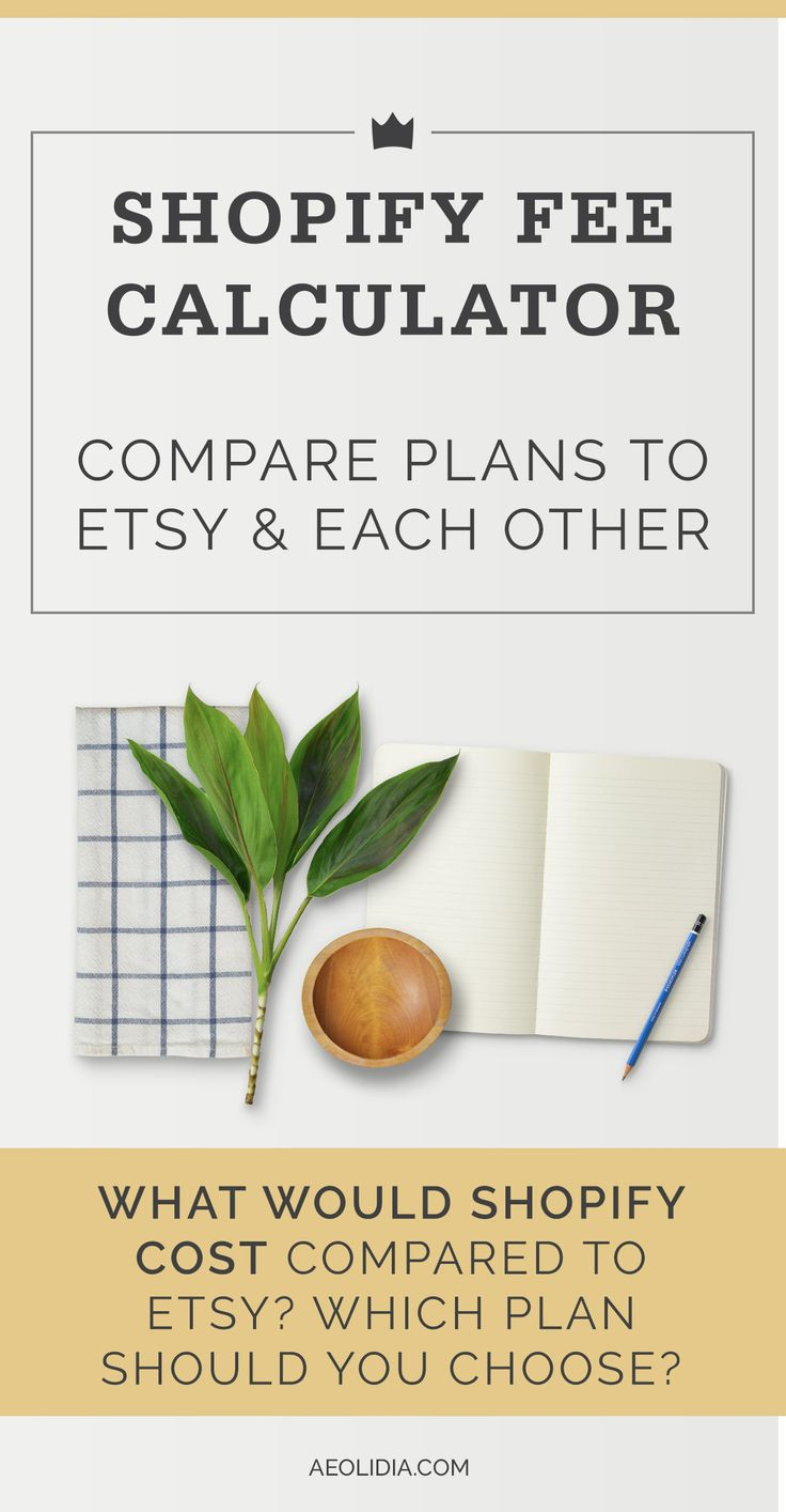 How do Shopify vs. Etsy fees stack up? Often, shop owners come to us ready to set up their own ecommerce website because they've watched their Etsy fees steadily increase. Once you are paying high monthly fees, it's an easy decision to make the move to setting up your own online shop. Click to learn more and get your spreadsheet or save for later!