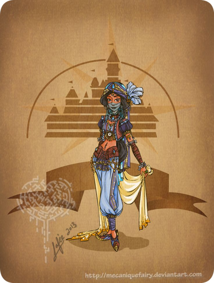 This Is What It Looks Like When Disney Characters Get Steampunk Makeovers