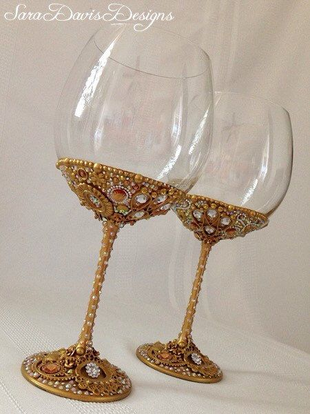17 best ideas about gold wine glasses on pinterest diy wine glasses gold dipped and wine - Plastic goblets medieval ...